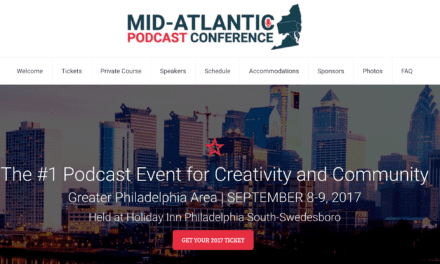 Mid-Atlantic Podcast Conference Sept 2017