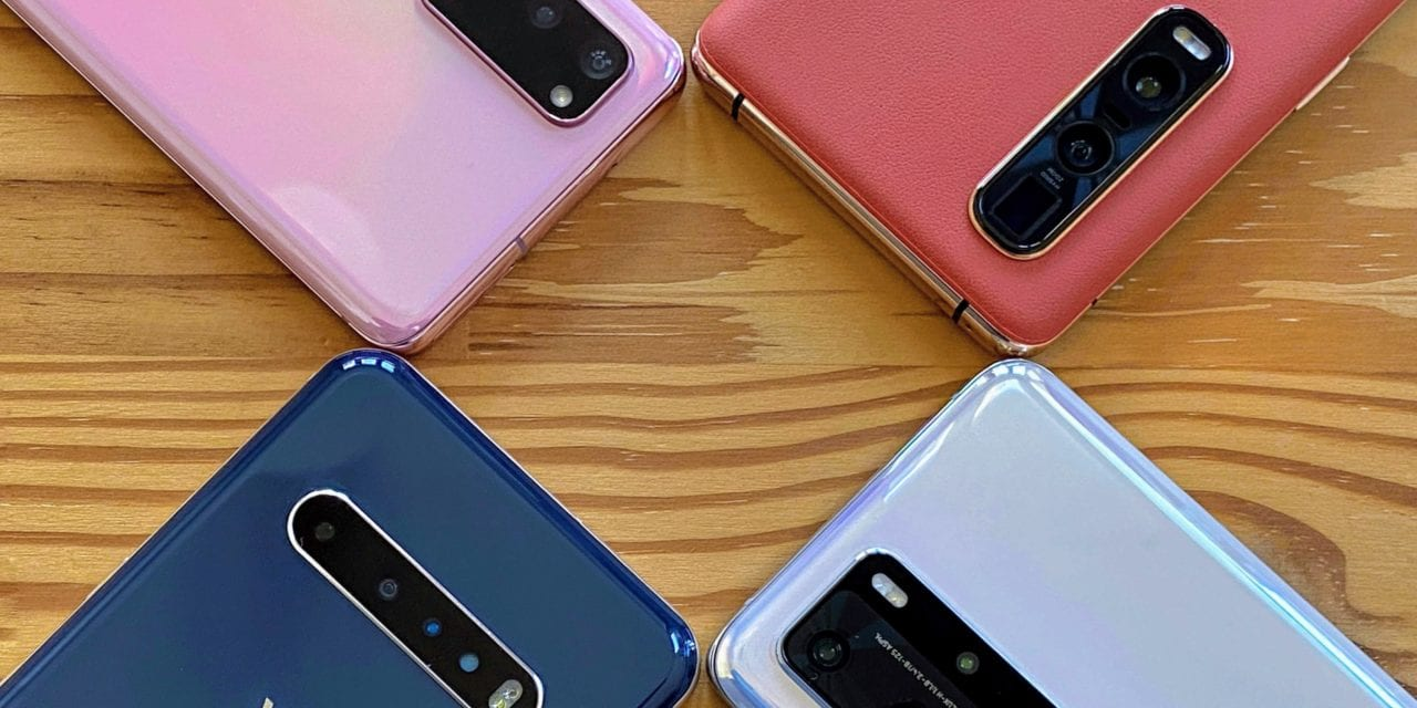 Samsung Galaxy S20-series vs. Huawei P40 Pro vs. Oppo Find X2 Pro vs LG V60 ThinQ imaging with Steve Litchfield of The Phones Show – Mobile Tech Podcast 158
